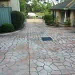 Caringbah Driveway - Before